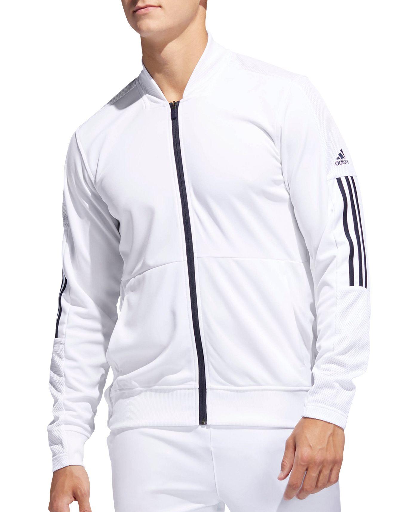 adidas Men's Side Snap Full-Zip Track Jacket