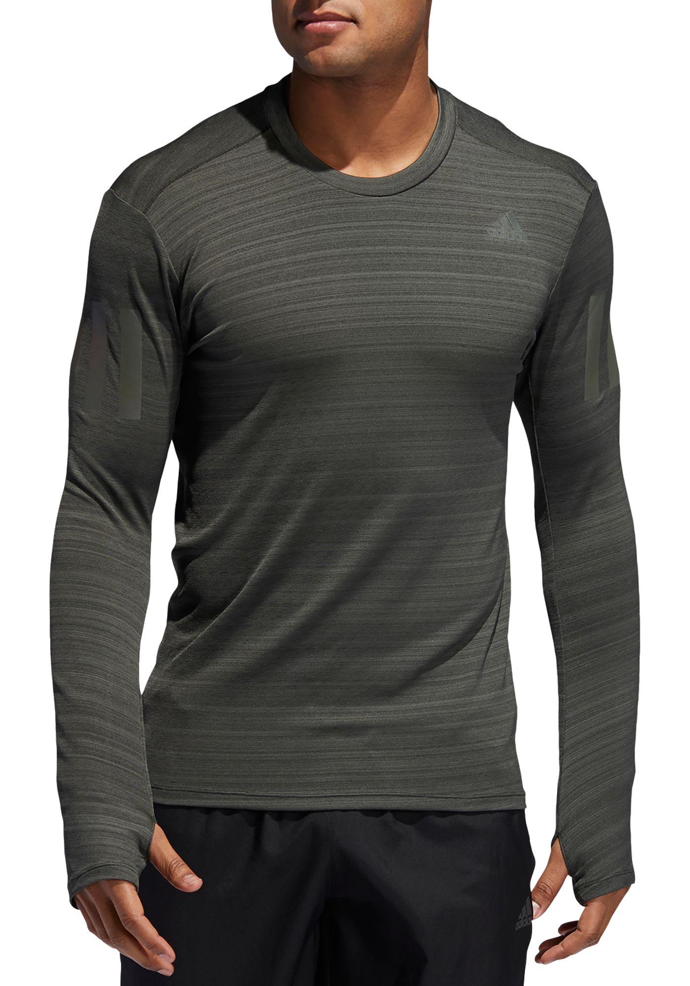 adidas Men's Supernova Rise Up N Run Long Sleeve Shirt