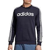 adidas Men's Essentials 3-Stripes Sweatshirt