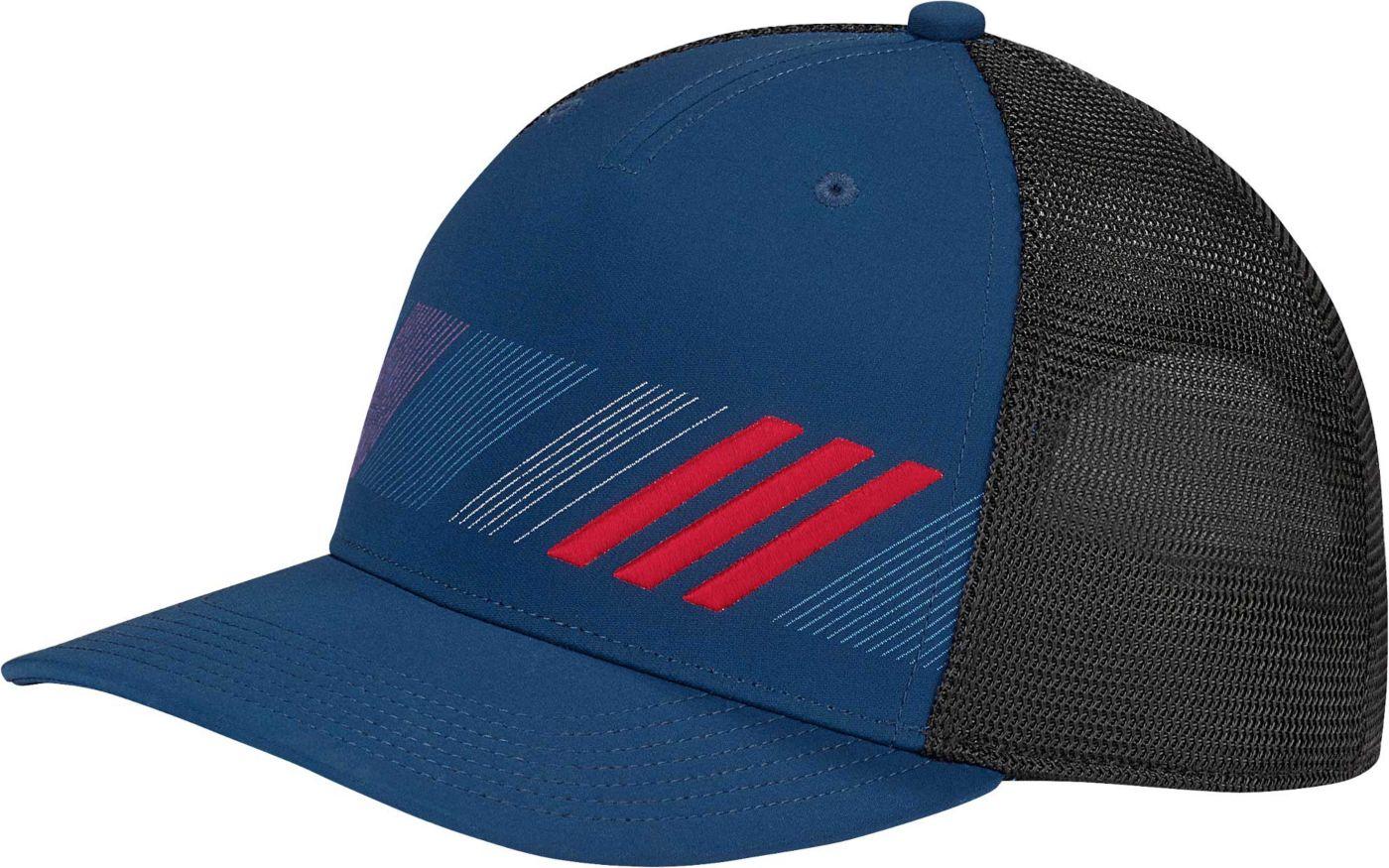 adidas Men's Stripe Trucker Golf Hat