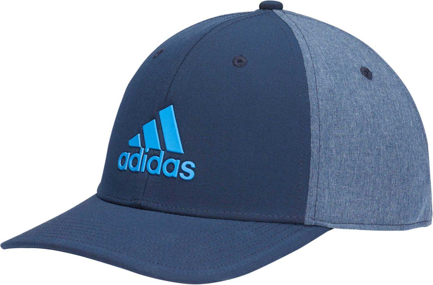 adidas Men's A-Stretch Badge of Sport Tour Heather Golf Hat