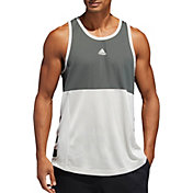 adidas Men's 3-Stripe Life International Tank Top