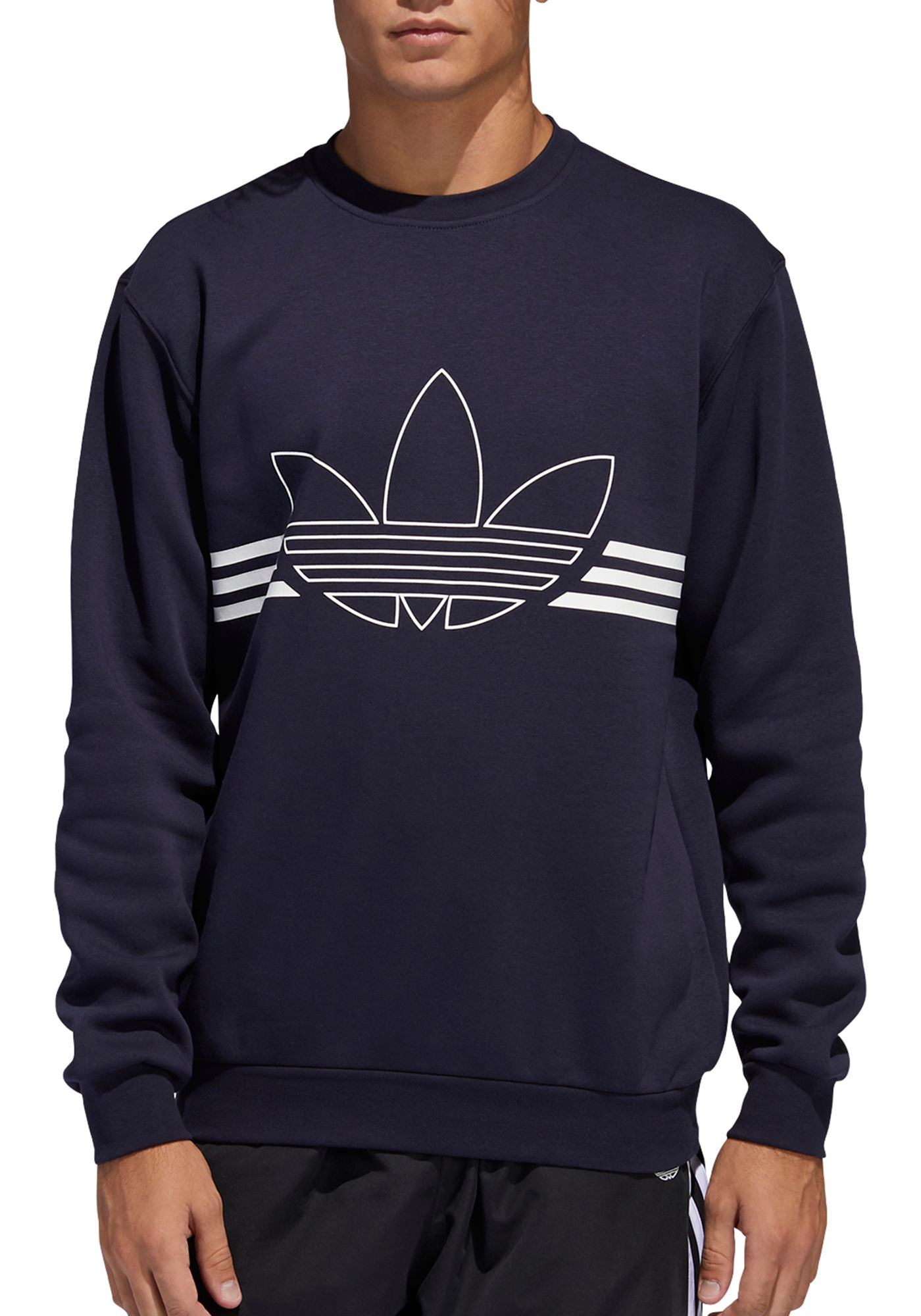 adidas Originals Men's Outline Crewneck Sweatshirt