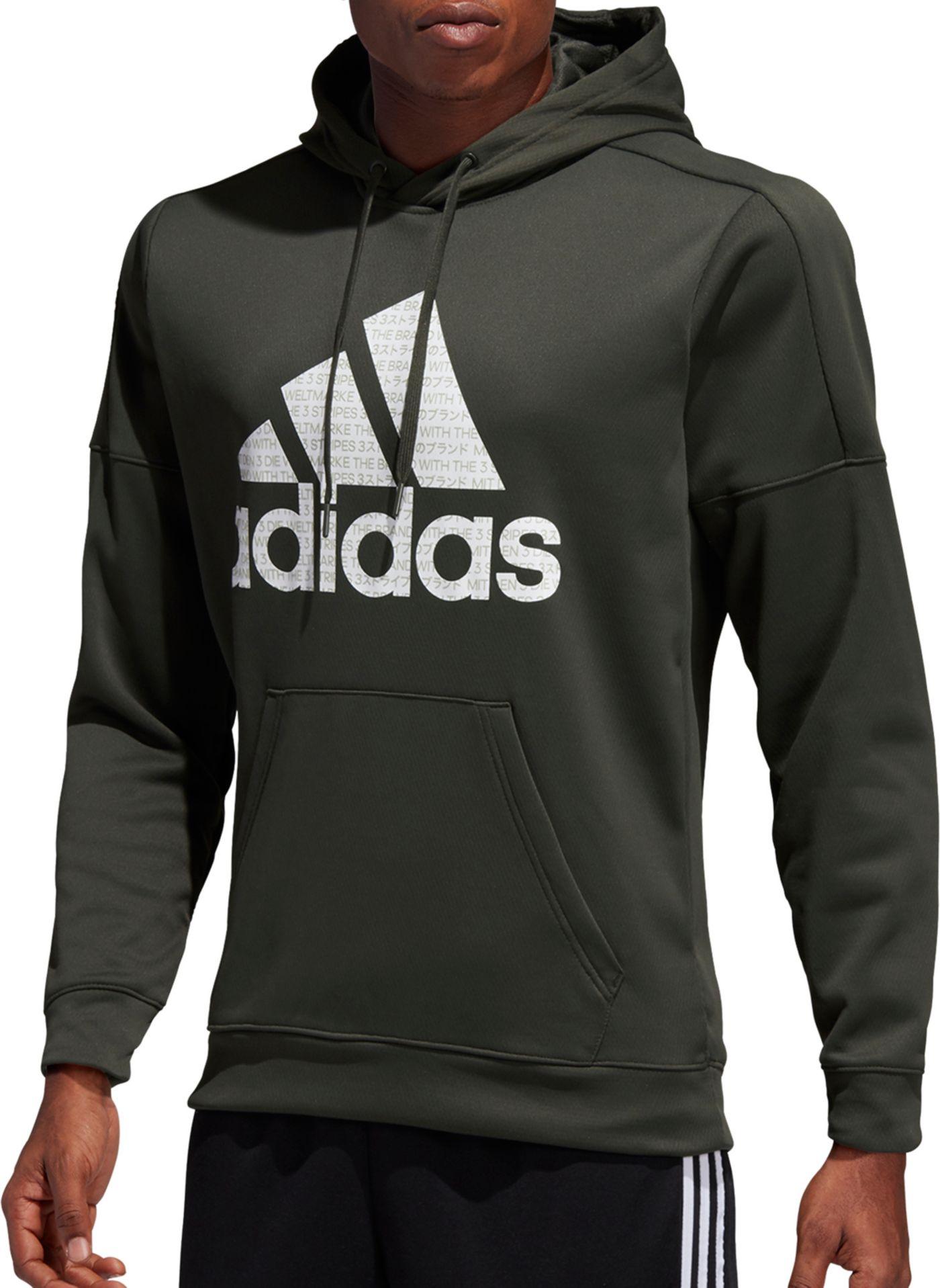 adidas Men's Team Issue Badge Of Sport Graphic Hoodie
