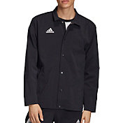 adidas Men's Tan Coach Jacket