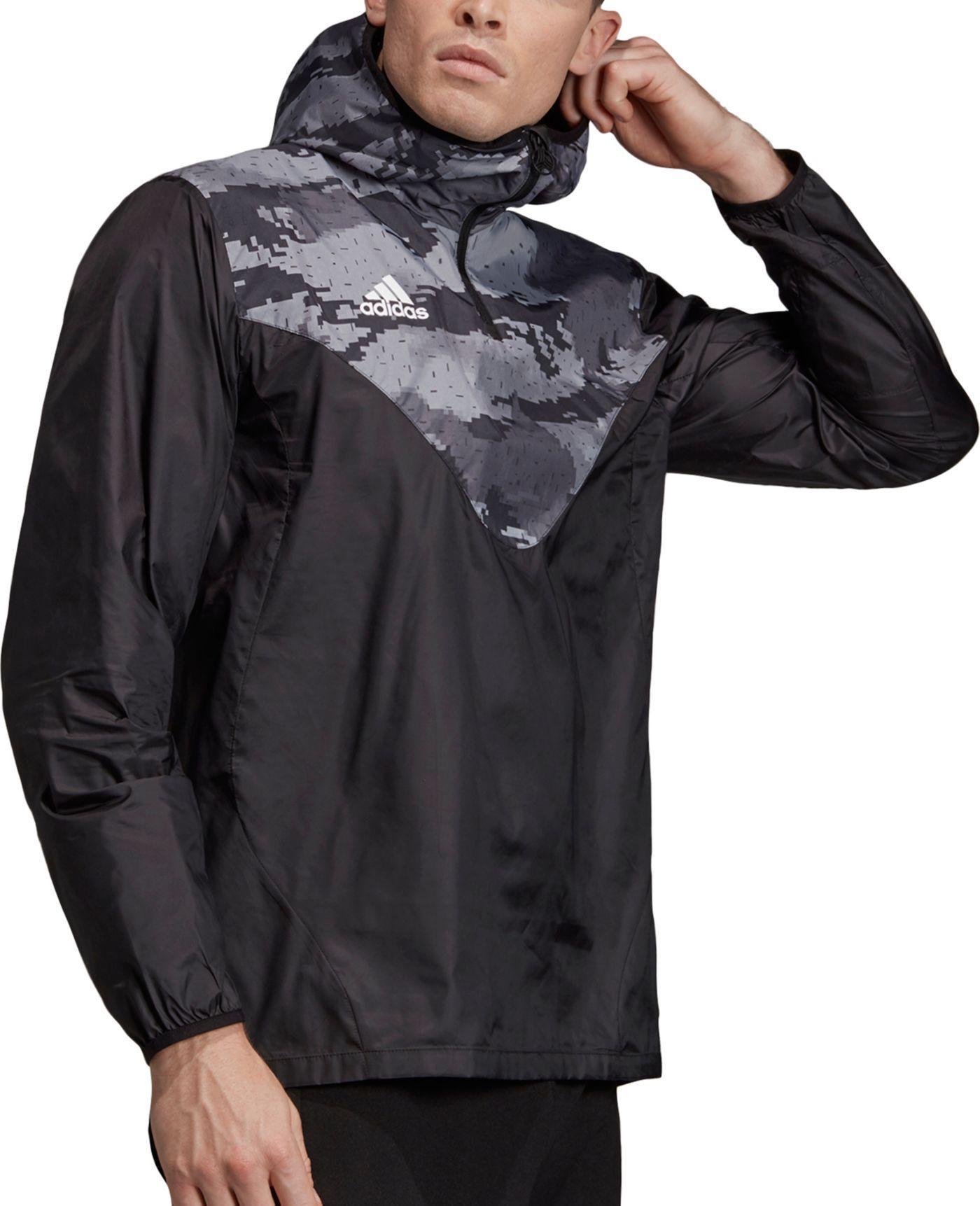 adidas Men's Tan ADV Windbreaker Jacket