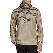 adidas Men's Tan ADV Windbreaker Jacket