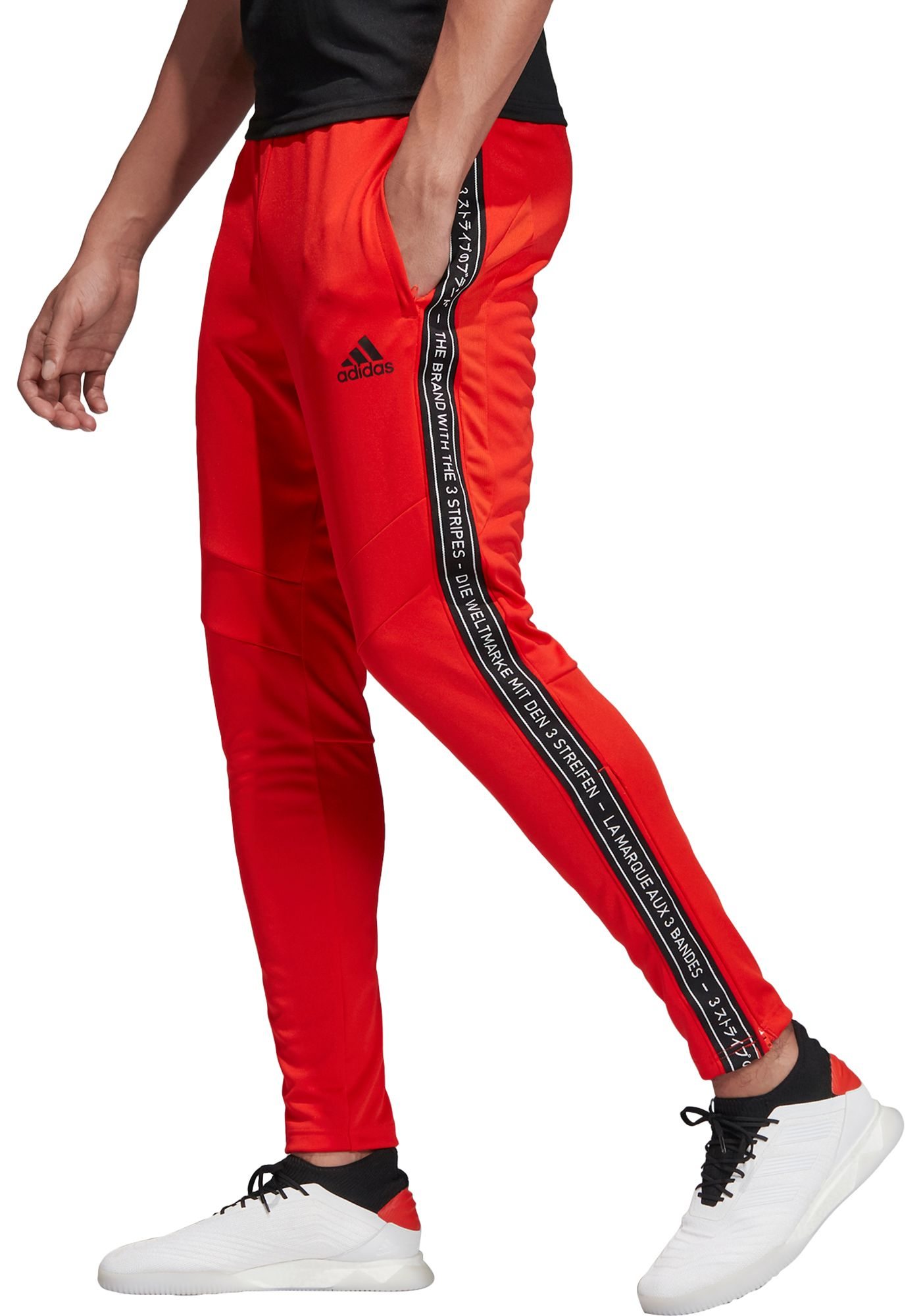 adidas Men's Tiro 19 Taped Training Pants