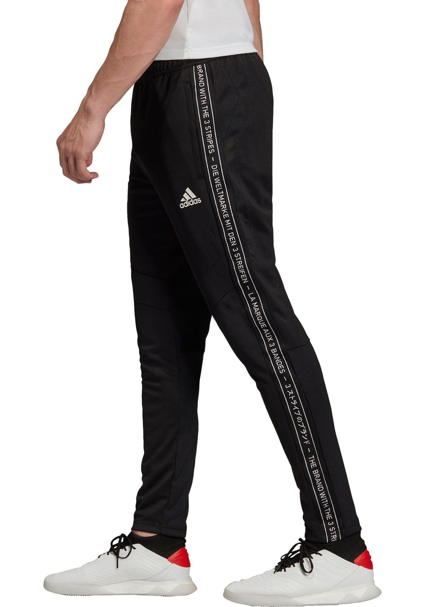 adidas Men's Tiro 19 Tape Training Pants (Regular and Big & Tall)