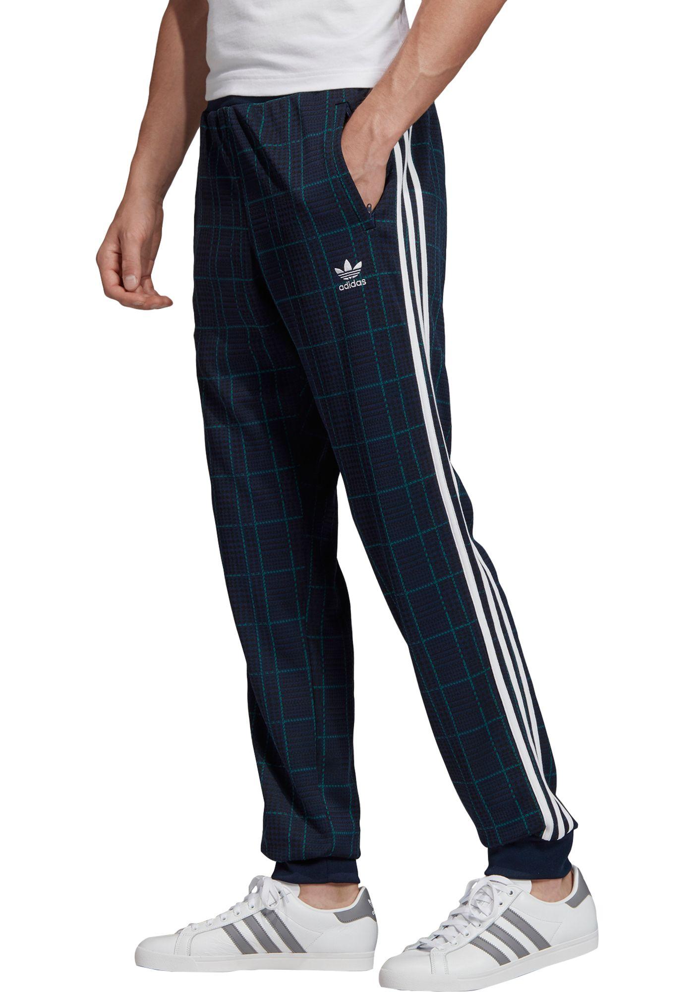 adidas Originals Men's Tartan Pants