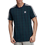 adidas Originals Men's Tartan T-Shirt