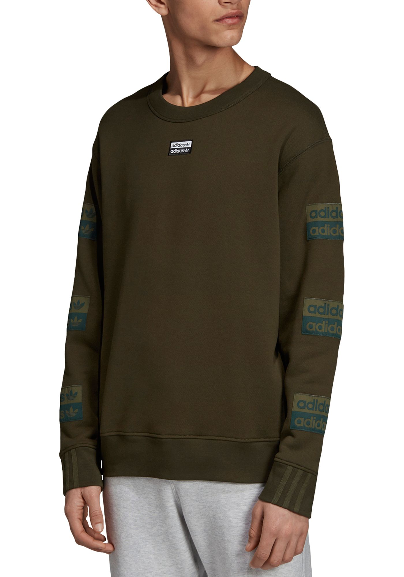 adidas Originals Men's RYV Crewneck Sweatshirt