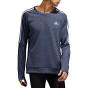 adidas Men's Own The Run 3-Stripes Crew Sweatshirt