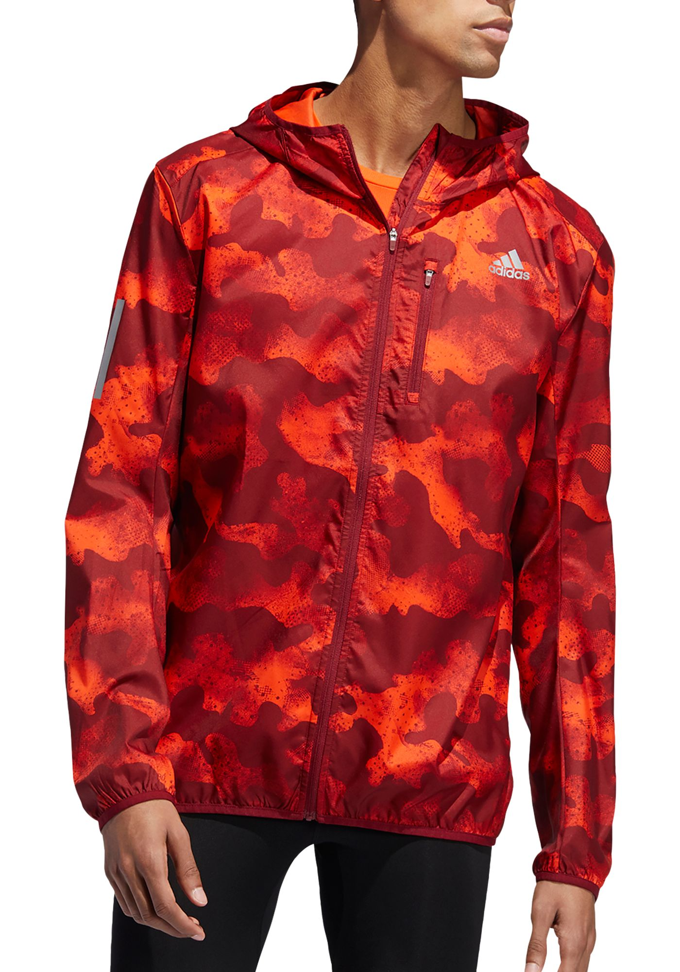 adidas Men's Own The Run Camouflage Running Jacket