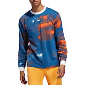 adidas Originals Men's Watercolor Long Sleeve Shirt