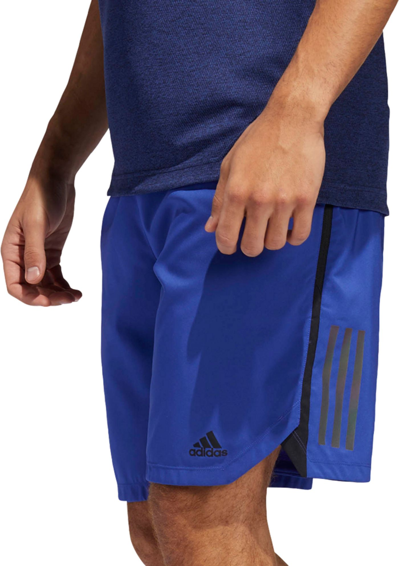 adidas Men's Axis Woven Elevated 3-Stripes Shorts