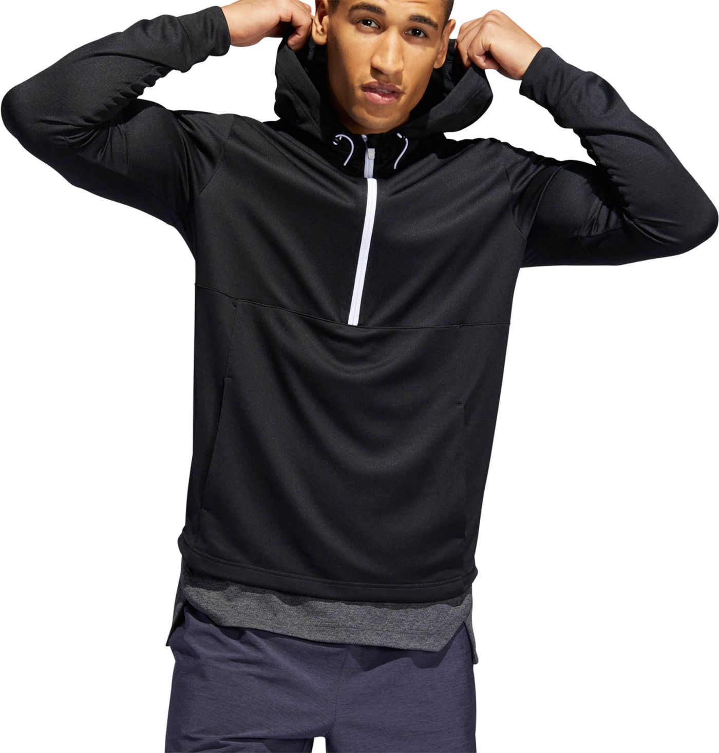 adidas Men's Axis Point ½ Zip Hoodie