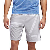 adidas Men's Axis Woven Allover Print Shorts