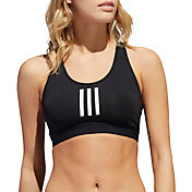 adidas Women's 3 Stripes Alphaskin Medium Support Bra