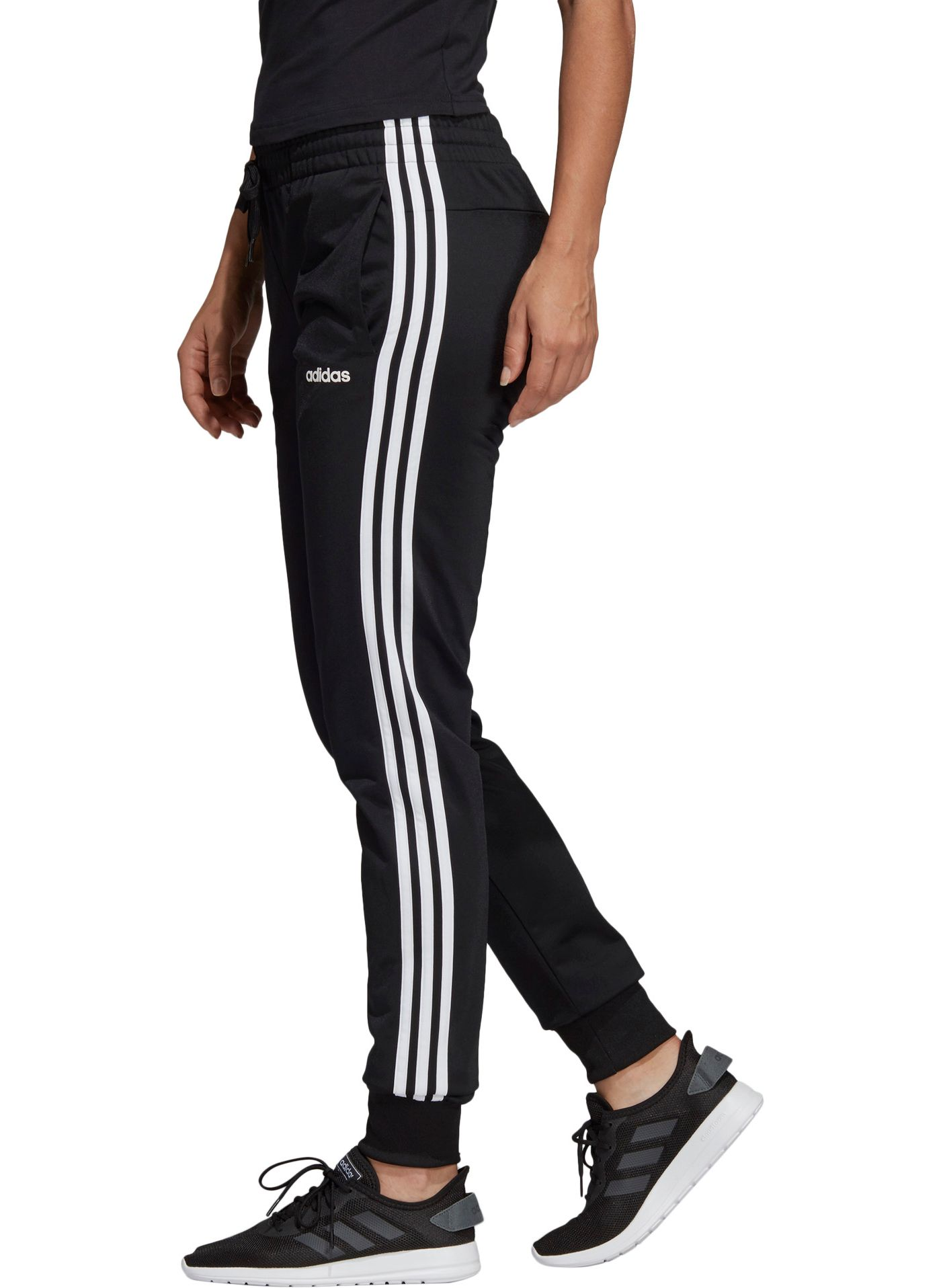 adidas Women's 3-Stripe Tricot Joggers
