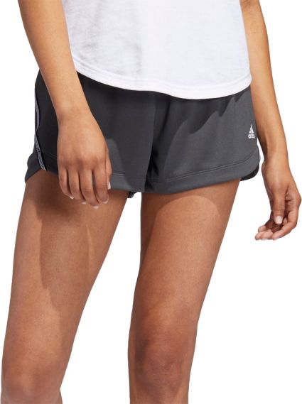 Adidas Women's 3 Stripes Knit Shorts by Adidas