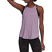 adidas Women's 3-Stripe Neck Tank Top