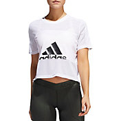 adidas Women's Badge of Sport Mesh T-Shirt