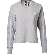 adidas Women's Changeover Tape Crewneck Sweatshirt