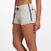 adidas fleece shorts womens