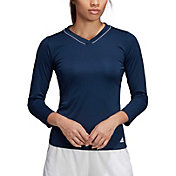 adidas Women's Club UV Protect ¾ Sleeve Tennis Shirt