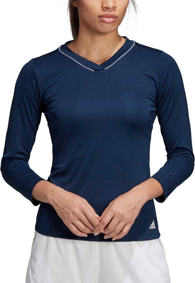 Tennisshirt Adidas Club Tee Collegiate Navy Damen