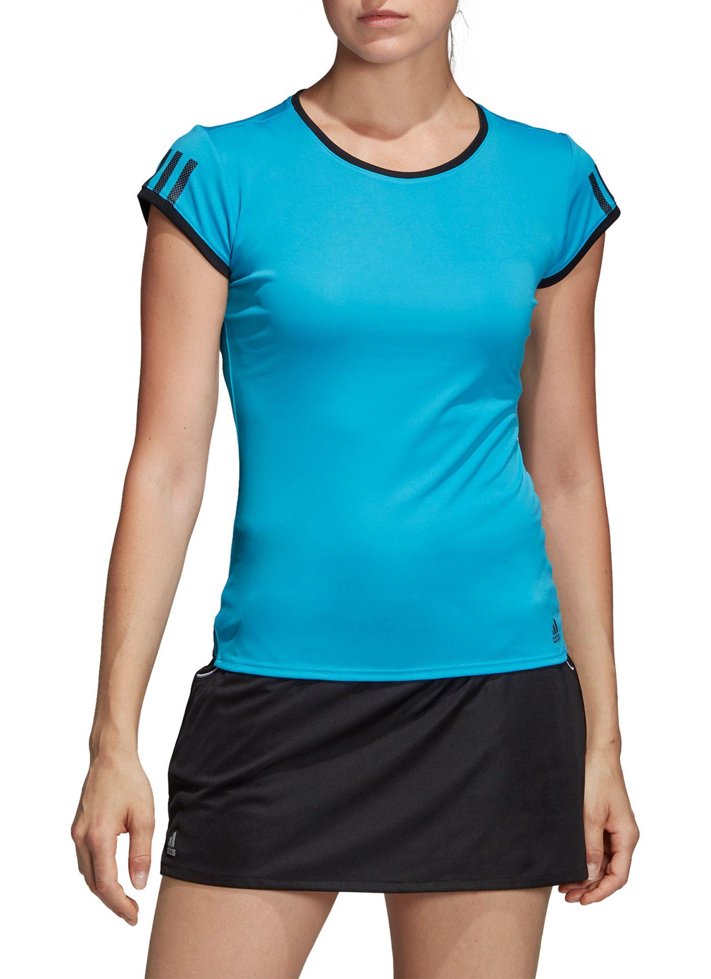 adidas Women's Club 3-Stripe Tennis T-Shirt