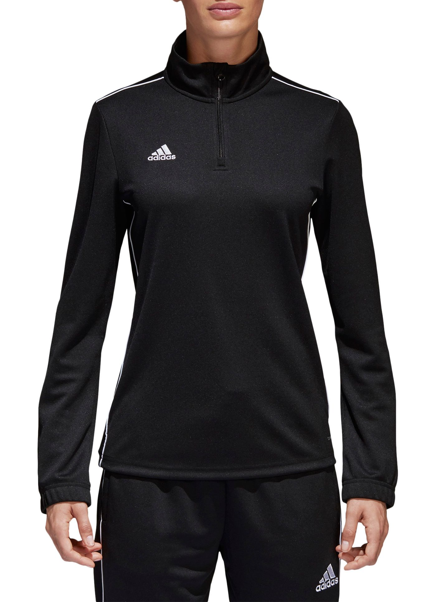 adidas Women's Core 18 Training 1/2 Zip Sweatshirt