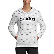 adidas Women's Linear Graphic Hoodie