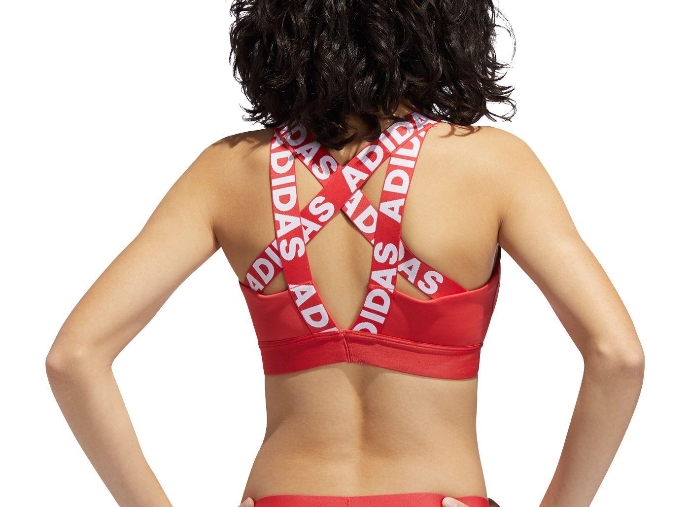 adidas Women's Don't Rest Branded Bra