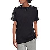 adidas Women's Design To Move 3 Stripe T-Shirt