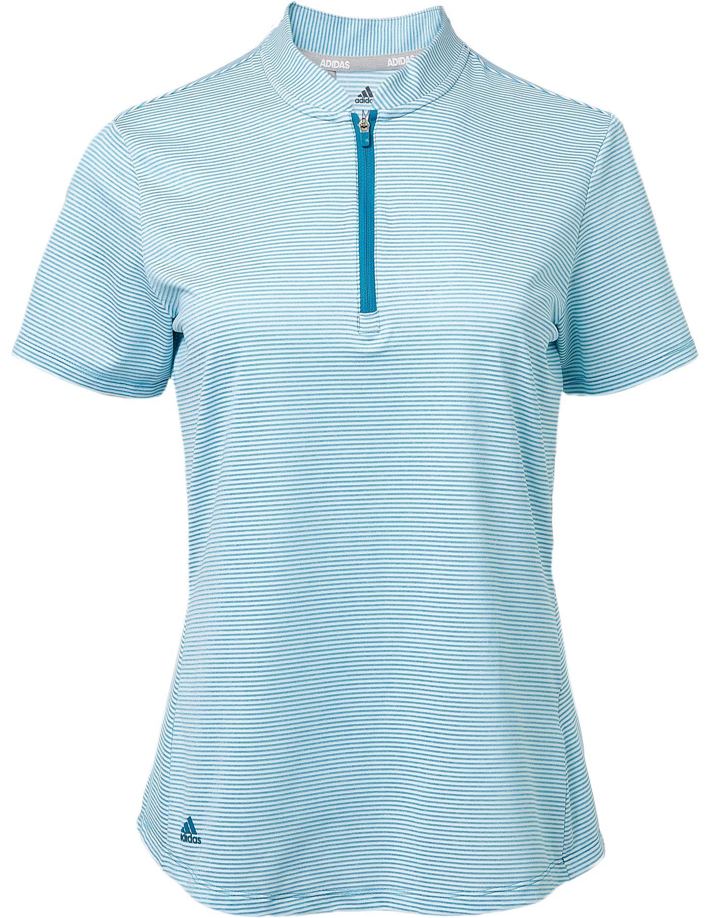 adidas Women's Advantage Short Sleeve Golf Polo