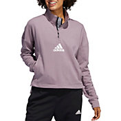 adidas Women's Game And Go 1/4 Zip Pullover