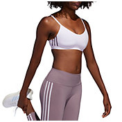 adidas Women's All Me 3-Stripe Core Bra