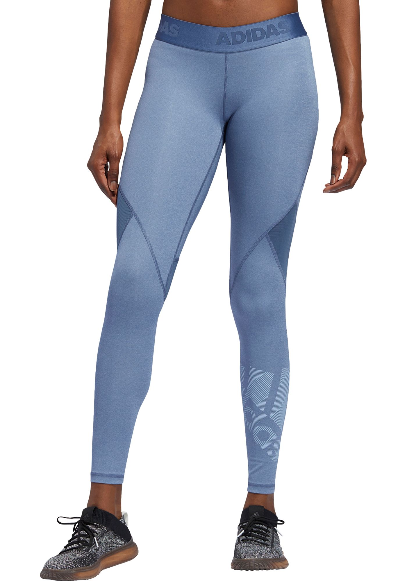 adidas Women's Alphaskin Badge Of Sports Tights