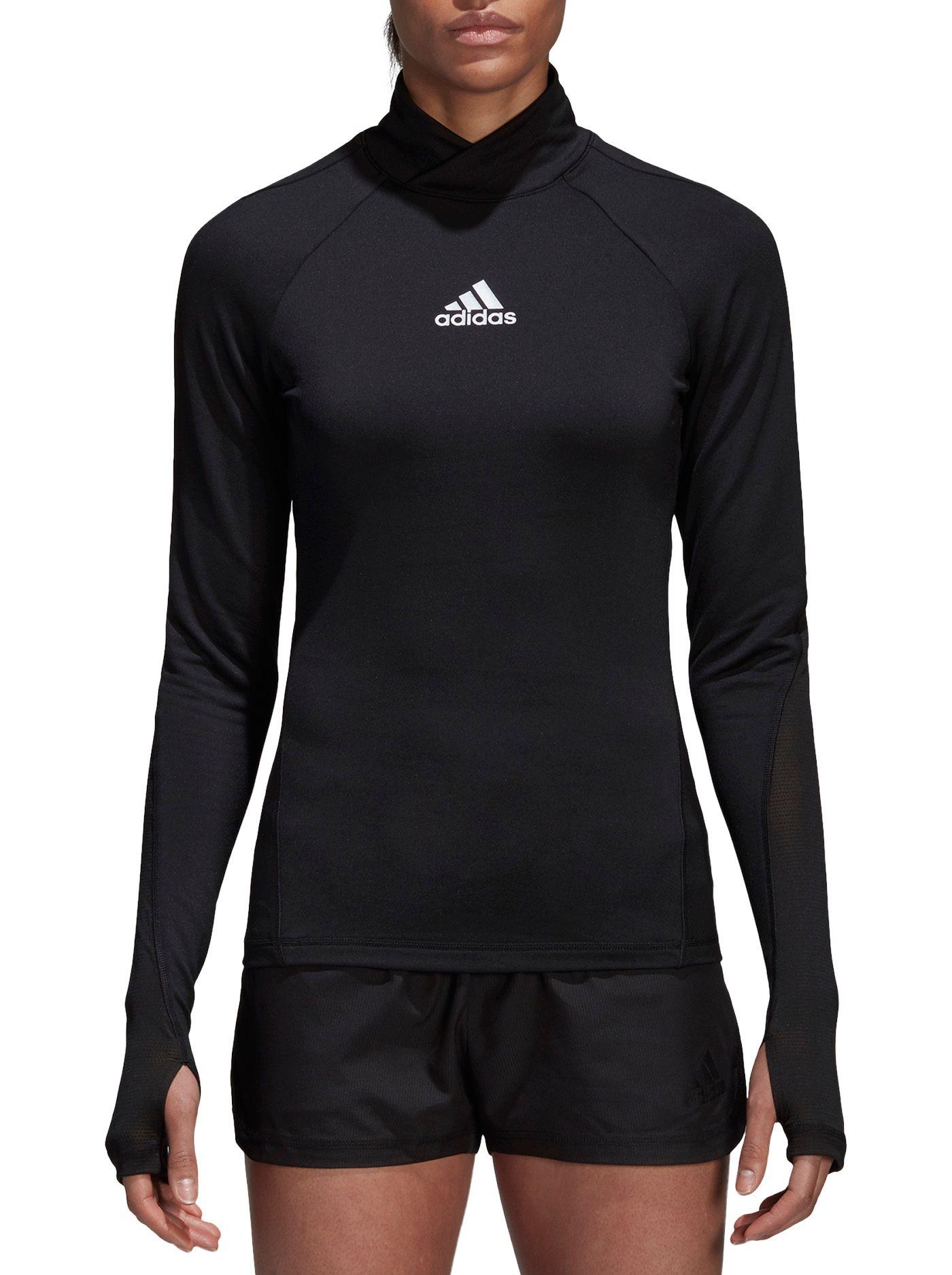 adidas Women's Alphaskin Long Sleeve Soccer Shirt