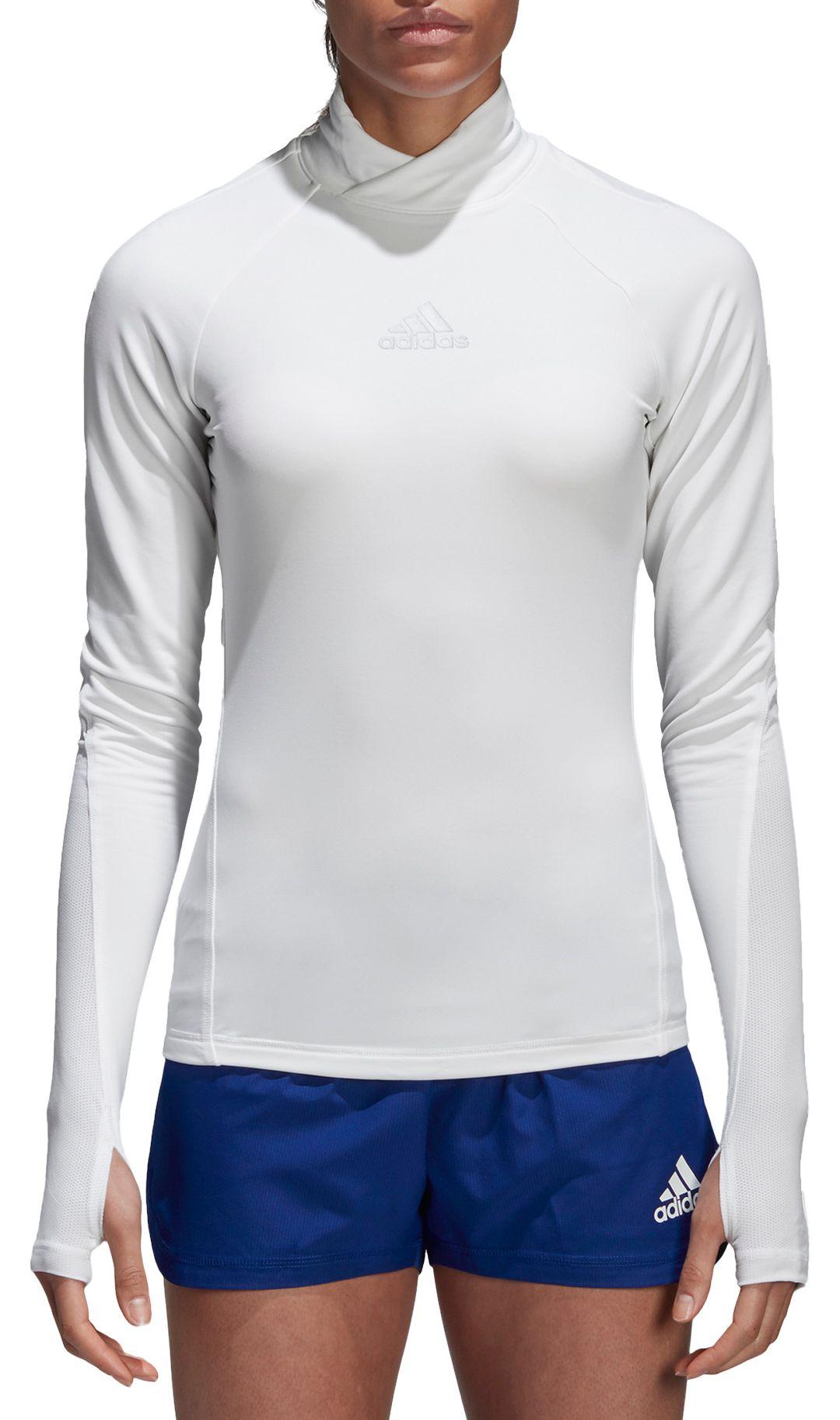 best service 69094 abe4b adidas Women's Alphaskin Long Sleeve Soccer Shirt