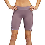 adidas Women's Alphaskin Tape 8'' Shorts