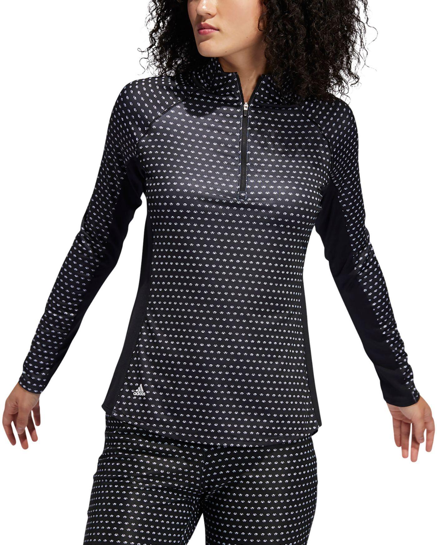 adidas Women's AEROREADY UV Printed Golf Pullover