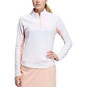 adidas Women's Ultimate Climacool Long Sleeve Golf Polo