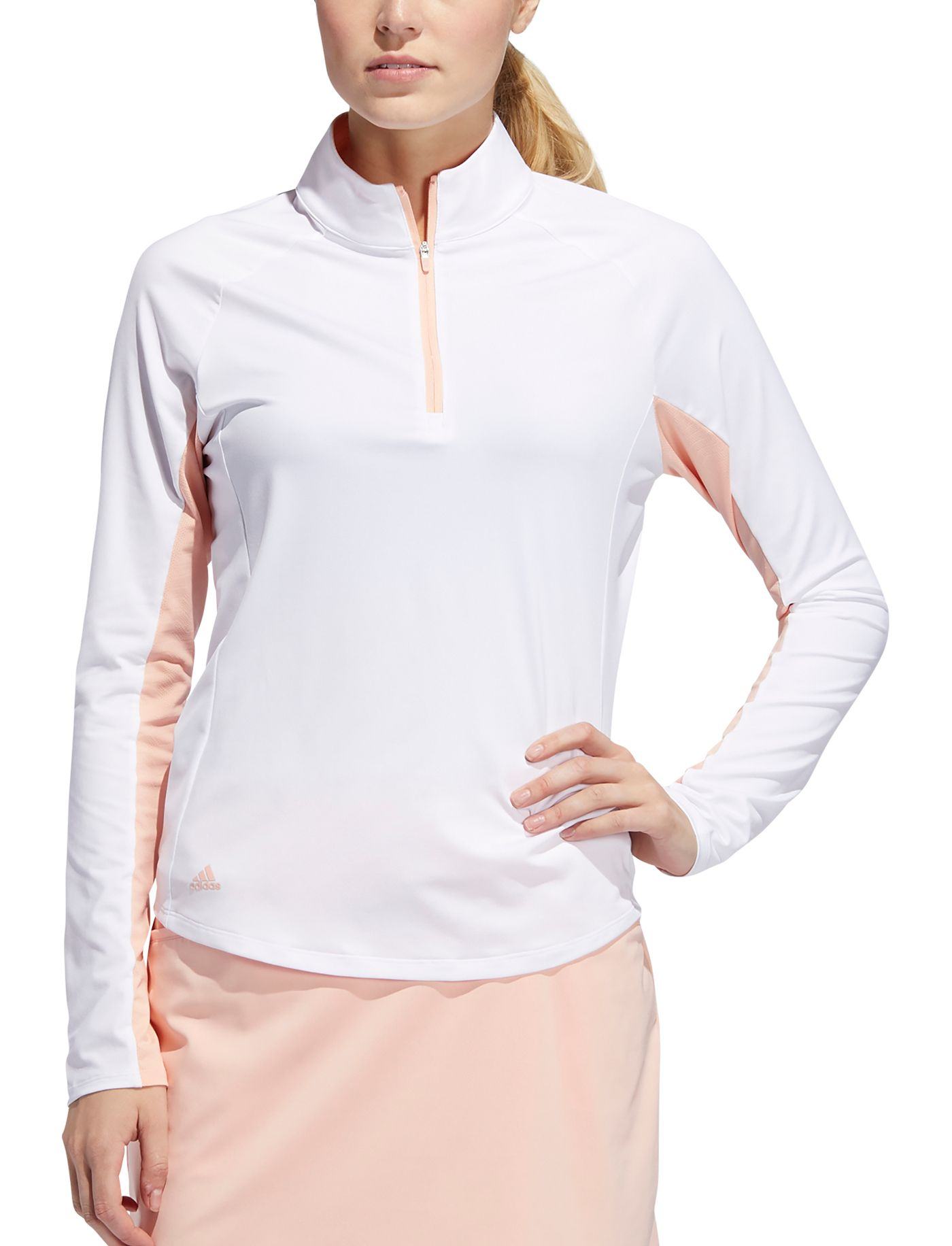 adidas Women's Ultimate Climacool Long Sleeve Golf Polo
