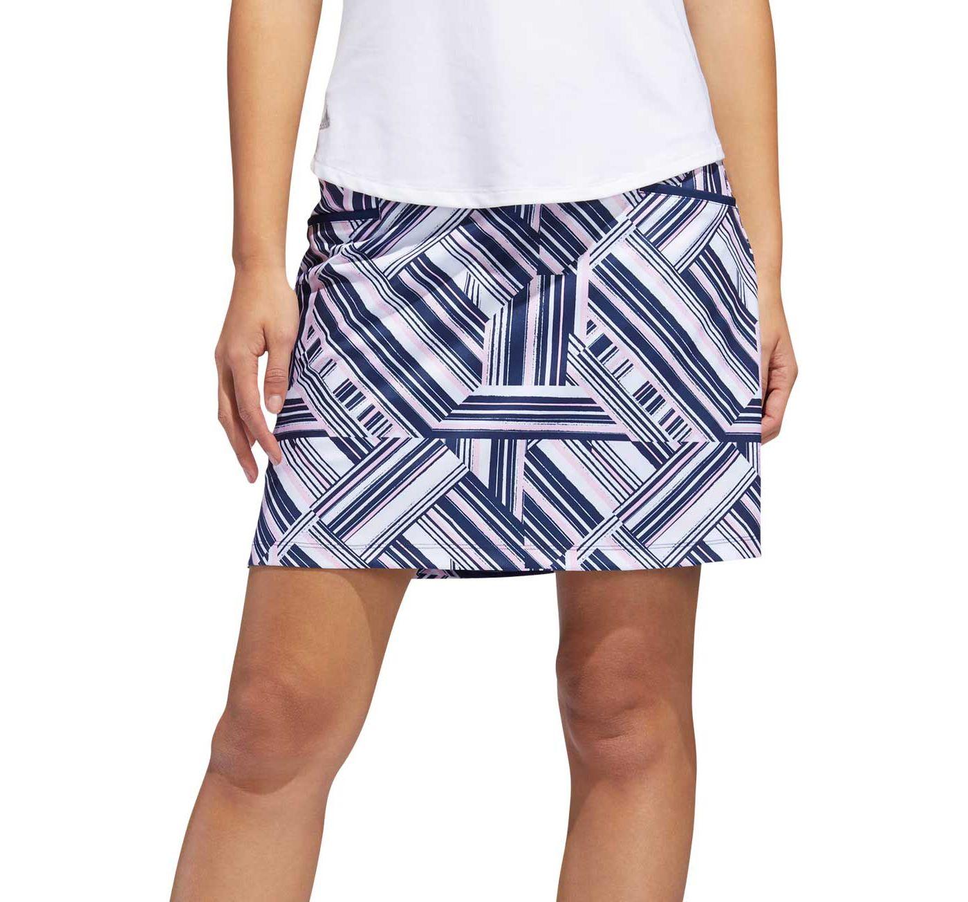 adidas Women's Ultimate Print Golf Skort