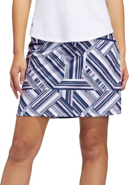 adidas Women's Ultimate Print Golf Skort