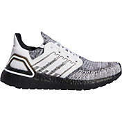 adidas Women's Ultraboost 20 Running Shoes in White/Black