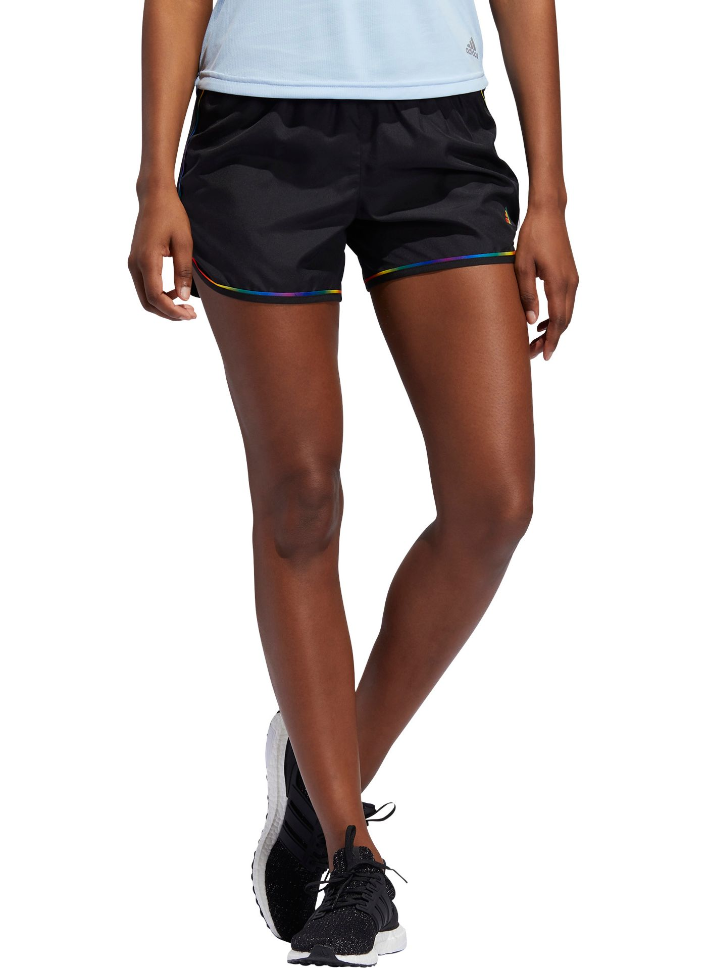 "adidas Women's Marathon 20 Pride 4"" Running Shorts"